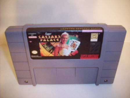 Super Caesars Palace - SNES Game